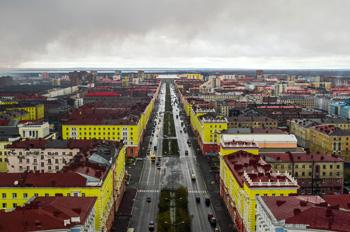 Россия. Норильск.