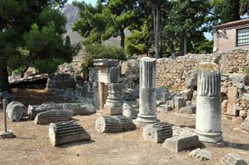 Греция. Древний Коринф.