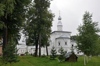 Ярославская область, Углич, с Улейма. Николо-Улеймин монастырь. Введенская церковь XVI - XVII в.в.