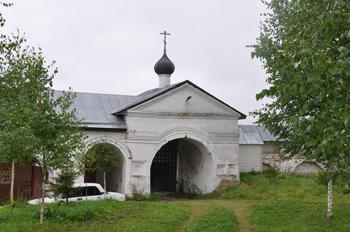 Ярославская область, Углич, с Улейма. Николо-Улеймин монастырь. Святые Врата.